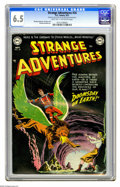 Golden Age (1938-1955):Science Fiction, Strange Adventures #24 (DC, 1952) CGC FN+ 6.5 (Light tan tooff-white pages. Murphy Anderson, Gil Kane, and Carmine Infantin...