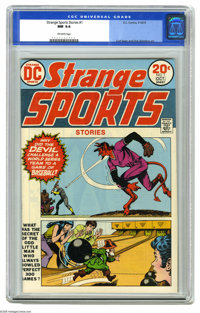 Strange Sports Stories #1 (DC, 1973) CGC NM 9.4 Off-white pages. Curt Swan and Dick Giordano art. Overstreet 2005 NM- 9...