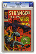 Silver Age (1956-1969):Science Fiction, Strange Tales #146 (Marvel, 1966) CGC NM- 9.2 Off-white pages. Steve Ditko cover. Ditko, Don Heck, and Mike Esposito art. Ov...