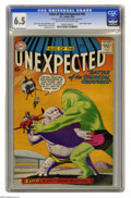Silver Age (1956-1969):Horror, Tales of the Unexpected #40 (DC, 1959) CGC FN+ 6.5 Light tan tooff-white pages. Space Ranger features begin. Bob Brown cove...