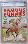 Golden Age (1938-1955):Humor, Famous Funnies #14 (Eastern Color, 1935) CGC FN 6.0 White pages....