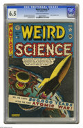 Golden Age (1938-1955):Science Fiction, Weird Science #5 (EC, 1951) CGC FN+ 6.5 Cream to off-white pages.Atomic explosion cover by Al Feldstein. Interior art by Fe...
