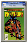 Modern Age (1980-Present):Superhero, Wolverine (Limited Series) #4 (Marvel, 1982) CGC NM/MT 9.8 Whitepages. Frank Miller cover and art. Overstreet 2005 NM- 9.2 ...