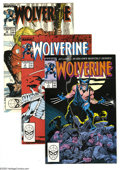 Modern Age (1980-Present):Superhero, Wolverine Group (Marvel, 1982-89). Large 26-issue group lotincludes the Wolverine limited series #1 (four copies), 2, 3... (26Comic Books)