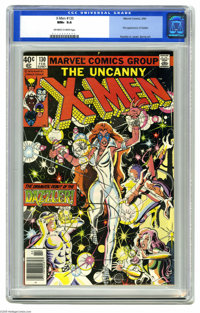 X-Men #130 (Marvel, 1980) CGC NM+ 9.6 Off-white to white pages. First appearance of Dazzler. John Romita Jr. cover. John...