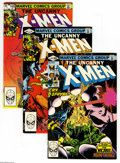 Modern Age (1980-Present):Superhero, X-Men Modern Group (Marvel, 1981-84) Condition: Average VF+. Groupof comic books includes X-Men #144 (9 copies), 145(3)... (176 ComicBooks)