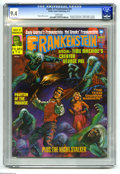 "Magazines:Horror, Castle of Frankenstein #25 (Gothic Castle Printing, 1975) CGC NM 9.4 White pages. ""Young Frankenstein"" movie article and pho..."
