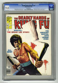 "Magazines:Miscellaneous, The Deadly Hands of Kung Fu #28 (Marvel, 1976) CGC VF/NM 9.0Off-white pages. All-Bruce Lee issue. Overstreet notes, ""Rare i..."