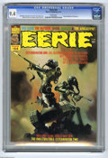 Magazines:Horror, Eerie #64 (Warren, 1975) CGC NM 9.4 White pages. Bernie Wrightson frontispiece. Ken Kelly cover. Richard Corben, Paul Neary,...