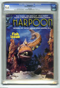 Magazines:Humor, Harpoon #2 (Adrian B.Lopez, 1974) CGC NM 9.4 White pages. Fishissue. Poster centerfold. Howard Chaykin and Doug Wildey art....