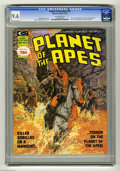 Magazines:Science-Fiction, Planet of the Apes #14 (Marvel, 1975) CGC NM+ 9.6 Off-white pages.Interview with William Creber. Mike Ploog and Rico Rival ...