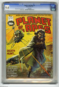 Magazines:Science-Fiction, Planet of the Apes #16 (Marvel, 1976) CGC NM 9.4 White pages. KenBarr cover. Rico Rival art. Overstreet 2005 NM- 9.2 value ...