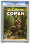 Magazines:Superhero, Savage Sword of Conan #73 (Marvel, 1982) CGC NM+ 9.6 White pages.Joe Chiodo cover. Pablo Marcos frontispiece. John Buscema ...