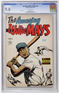 Golden Age (1938-1955):Non-Fiction, The Amazing Willie Mays #nn (Famous Funnies, 1954) CGC VF/NM 9.0Off-white pages....