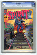 Magazines:Superhero, The Spirit #3 (Warren, 1974) CGC NM 9.4 White pages. Will Eisnercover, colored by Richard Corben. Eisner art. 8 pages are i...