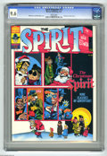 Magazines:Superhero, The Spirit #12 (Warren, 1976) CGC NM+ 9.6 White pages. Christmastheme issue. Will Eisner and Bill DuBay cover. This is curr...