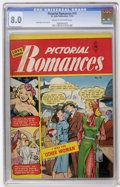 Golden Age (1938-1955):Romance, Pictorial Romances #10 (St. John, 1951) CGC VF 8.0 Cream to off-white pages....