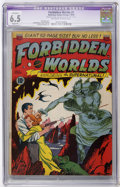 Golden Age (1938-1955):Science Fiction, Forbidden Worlds #1 (ACG, 1951) CGC Apparent FN+ 6.5 Slight (P)Off-white to white pages....