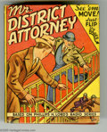 Golden Age (1938-1955):Miscellaneous, Big Little Book #1408 Mr. District Attorney On The Job (Whitman, 1941) Condition: FN-. Includes flip pictures. Overstreet 20...