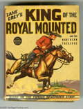 Platinum Age (1897-1937):Miscellaneous, Big Little Book #1179 Zane Grey's King of the Royal Mounted (Whitman, 1937) Condition: VF/NM. Overstreet 2005 VF/NM value = ...