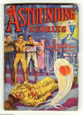 Pulps:Science Fiction, Astounding Stories Nov 1932 (V11#2) (Street & Smith, 1932)Condition: VG/FN. Hans Wessolowski cover art. Cover stock iswhit...