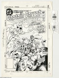 Original Comic Art:Miscellaneous, Rick Hoberg - Captain Carrot and His Amazing Zoo Crew #20 CoverStat (DC, 1983). From the last issue of Captain Carrot and...