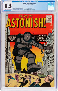 Tales to Astonish #3 (Marvel, 1959) CGC VF+ 8.5 Cream to off-white pages