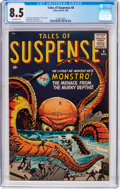 Silver Age (1956-1969):Mystery, Tales of Suspense #8 (Marvel, 1960) CGC VF+ 8.5 Off-white pages....