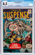 Silver Age (1956-1969):Horror, Tales of Suspense #6 (Marvel, 1959) CGC VF+ 8.5 Off-white pages....