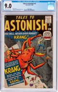 Silver Age (1956-1969):Horror, Tales to Astonish #14 (Marvel, 1960) CGC VF/NM 9.0 Off-white towhite pages....