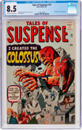 Silver Age (1956-1969):Science Fiction, Tales of Suspense #14 (Marvel, 1961) CGC VF+ 8.5 Off-white to white pages....