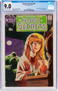 Bronze Age (1970-1979):Horror, House of Secrets #92 (DC, 1971) CGC VF/NM 9.0 Off-white to whitepages....