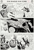 Original Comic Art:Panel Pages, Ross Andru and Mike Esposito Star Spangled War Stories #103Story Page 9 G.I. Robot Original Art (DC, 1962)....