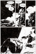 Original Comic Art:Panel Pages, Mike Mignola Hellboy: Conqueror Worm #1 Story Page 29Original Art (Dark Horse, 2001)....