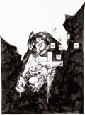 Original Comic Art:Covers, Mike Mignola Witchfinder: Lost and Gone Forever #2 Cover Original Art (Dark Horse, 2011)....