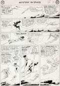 Original Comic Art:Panel Pages, Carmine Infantino and Joe Giella Mystery in Space 84 StoryPage 13 Adam Strange Original Art (DC, 1963)....