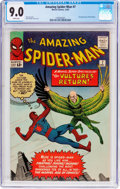 Silver Age (1956-1969):Superhero, The Amazing Spider-Man #7 (Marvel, 1963) CGC VF/NM 9.0 Whitepages....
