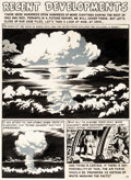 Original Comic Art:Panel Pages, Wally Wood Weird Science-Fantasy #26 Story Page 1 AtomicBomb Original Art (EC, 1954)....