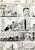 Original Comic Art:Panel Pages, Murphy Anderson Showcase #56 Doctor Fate and Hourman StoryPage 9 (DC, 1965). ...