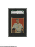 Baseball Cards:Singles (1930-1939), 1933 Goudey Carl Hubbell #234 SGC VG 40. Fantastic eye appeal bursts from this Hall of Famer's coveted card....