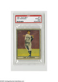 Baseball Cards:Singles (1940-1949), 1941 Play Ball Joe DiMaggio #71 PSA GOOD 2 (MK). An essential cardof the quintessential Yankee....