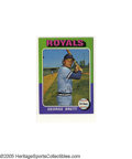 Baseball Cards:Sets, 1975 Topps Baseball Set. The 1975 Topps baseball series consists of 660 cards and was a collector favorite from the outset d...