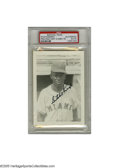 Autographs:Post Cards, Satchel Paige Signed Photograph. A perfect black ink signature on agreat image of the ageless Hall of Famer. Photo is the...