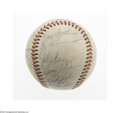 Autographs:Baseballs, 1969 Philadelphia Phillies Team Signed Baseball. Twenty-five nice(7/10 average) blue ink signatures on an ONL (Giles) ball...