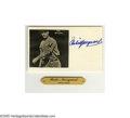 Autographs:Others, Baseball Stars Autograph Lot of 11. Exciting assortment spansseveral eras of the game's history, and several media. Highl...