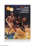 Basketball Collectibles:Programs, 1977 NCAA Final Four Program. High-grade specimen from this classicNCAA event is NRMT. Final Four Teams: Marquette, UNC Ch...