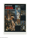 Basketball Collectibles:Programs, 1979 NCAA Final Four Program. High-grade specimen from this classicNCAA event is NRMT. Final Four Teams: Michigan State, P...
