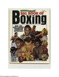 Boxing Collectibles:Autographs, Muhammad Ali Autographed Magazine Cover. July 1977 issue of BigBook Of Boxing magazine autographed by Muhammad Ali in blue ...