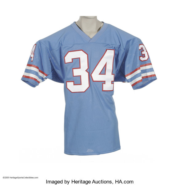 timeless design f6950 22d82 Earl Campbell Signed Jersey. The
