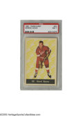 Hockey Cards:Singles (1960-1969), 1961 Parkhurst Gordie Howe #20 PSA NM 7. A tough early card from this legendary Hall of Famer....